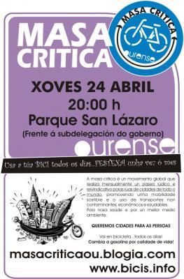 24 de Abril, MASA CRÍTICA