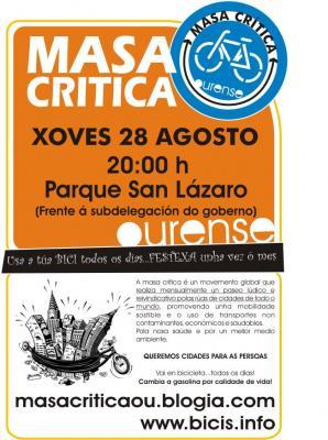 Un ano de Masas Críticas en Ourense